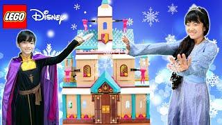 映画「アナと雪の女王2」のアレンデール城です。 このお城はフロアや家具パーツが外しやすくなっていて入れ替えてあそぶことができます。...