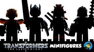 Lego Transformers The Last Knight Autobots Decepticons Optimus Prime Megatron Unofficial Minifigures