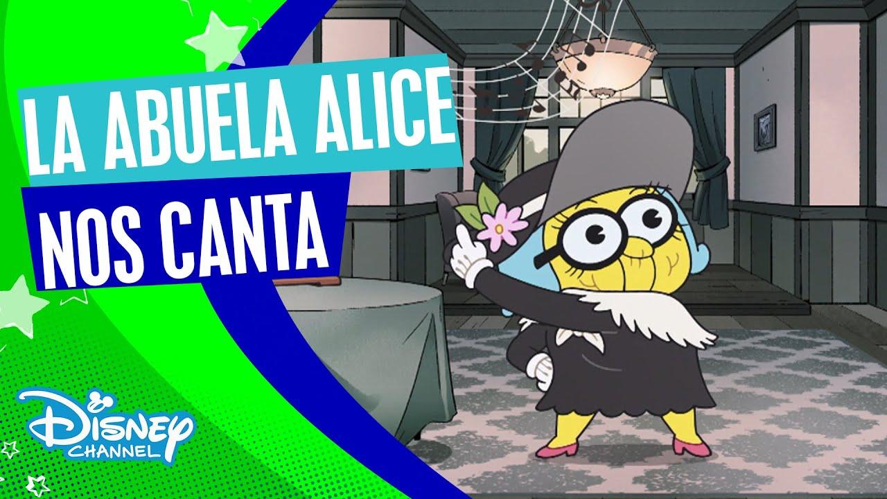 """Los Green en la Gran Ciudad: La abuela Alice nos canta """"Yo toco la turuta""""   Disney Channel Oficial"""