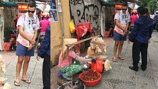 John Lloyd Cruz gumala ng naka tsinelas sa Vietnam na parang ordinaryong tao lang!