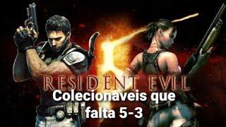 RESIDENT EVIL 5 colecionáveis faltano no capítulo 5-3
