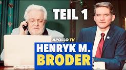 Die Jugend von heute - Henryk M. Broder im Gespräch | Teil 1