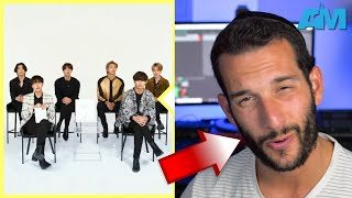 VOCAL COACH reacts to BTS singing LIFE GOES ON acapella