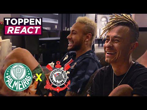 Assisti Um Palmeiras X Corinthians Na Casa Do Neymar
