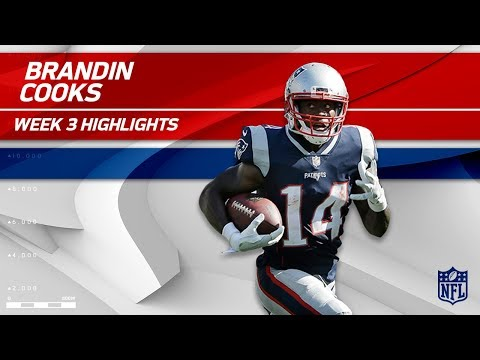 Brandin Cooks' Breakout Game as a Patriot!  | Texans vs. Patriots | Wk 3 Player Highlights