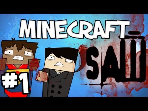 "Minecraft - ""SAW"" Part 1: LET THE GAME BEGIN"