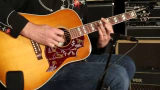 Gibson Montana Hummingbird Modern Classic • SN: 10491009
