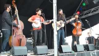 The Avett Brothers live acoustic - Apart From Me - for Danish radio at Tønder Festival 2013-08-24