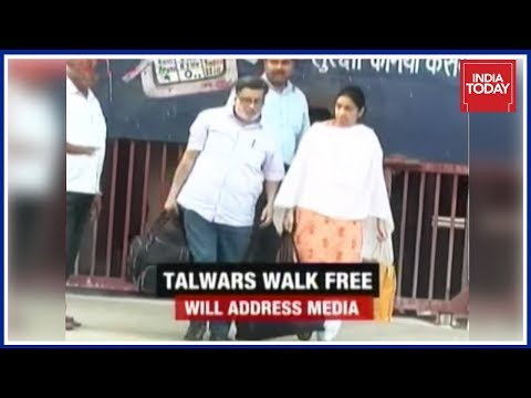 Talwar Couples Likely To Address Media After Their Release From Dasna Jail