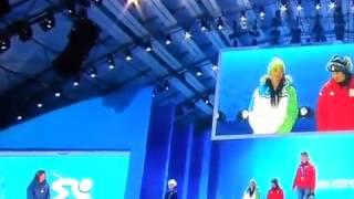 Sochi 2014 - Sochi 2014: Tina Maze received gold medal! 14.02.2014