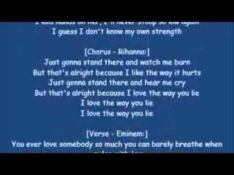 Eminem ft.Rihanna-Love The Way You Lie[HQ & Lyrics]