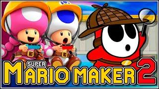 Resolviendo el misterio!!! | Super Mario Maker 2