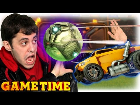 GOING PRO IN ROCKET LEAGUE (Gametime w/ Smosh Games)