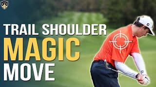 Trail Shoulder External Rotation Golf ➜ Make A Pro Downswing