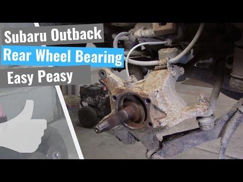 Subaru Outback Repair Series: #4 Rear Wheel Bearing