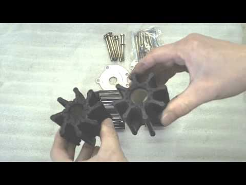 Replacing Your Mercruiser Marine Engine Sea Water Pump Impel