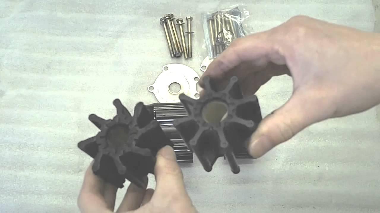 medium resolution of replacing your mercruiser marine engine sea water pump impel