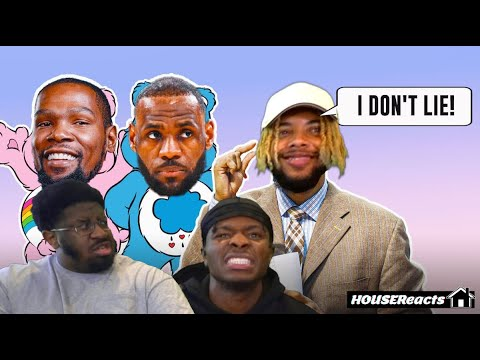 Download THE MOST INTENSE LEBRON HATE EVER!?!? | HouseReacts