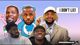 THE MOST INTENSE LEBRON HATE EVER!?!?   HouseReacts