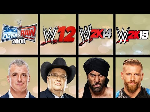 Lowest Rated Wrestlers Ever In WWE Games (Smackdown HCTP - WWE 2K19) |
