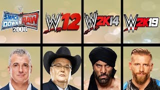 Lowest Rated Wrestlers Ever In WWE Games (Smackdown HCTP - WWE 2K19)