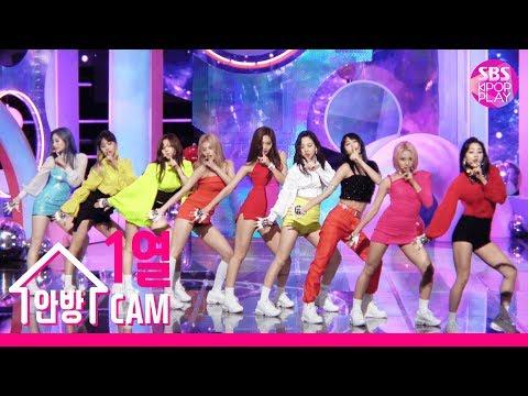 [안방1열 직캠4K] 트와이스 'FANCY' 풀캠 (TWICE 'FANCY' FanCam)│@SBS Inkigayo_2019.4.28