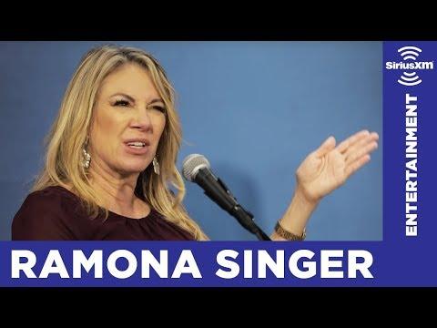 Ramona Singer: Jill Zarin played with Kelly Bensimon's head on Scary Island // SiriusXM // Stars