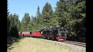 DDE085091 Narrow gauge steam train locomotive Harzer Schmalspurbahn Dampflok HSB 99-7245 독일 협궤 증기기관차
