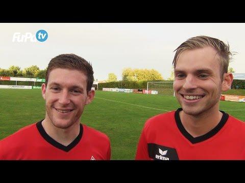Robin Müller & Fabian Jäckh - SV Spielberg - zum Spiel vs. 1.CfR Pforzheim am 20.8.2016