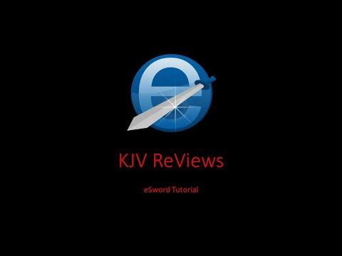 E-Sword Tutorial 1