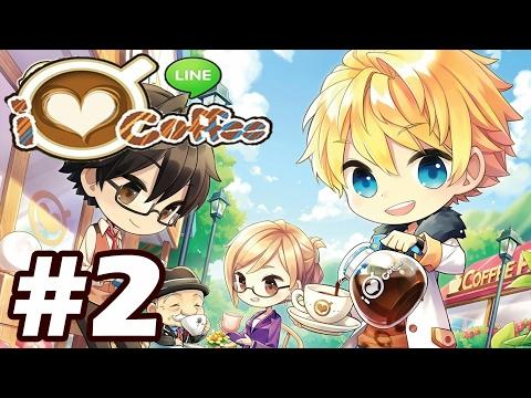 Line I Love Coffee #2 | มาเปิดร้านกาแฟกันเถอะ!! (เกมส์มือถือ)