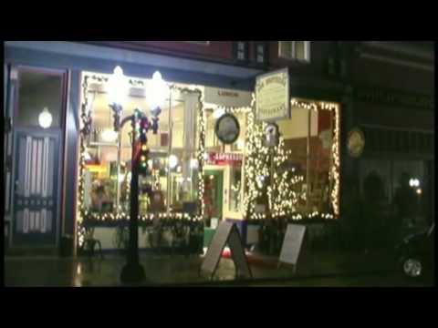 "Philipsburg, Montana ""Holiday Lights"""