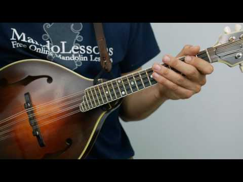 Two String Two Finger Chords: Key of A - Mandolin Lesson