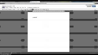 Het maken en wijzigen google document