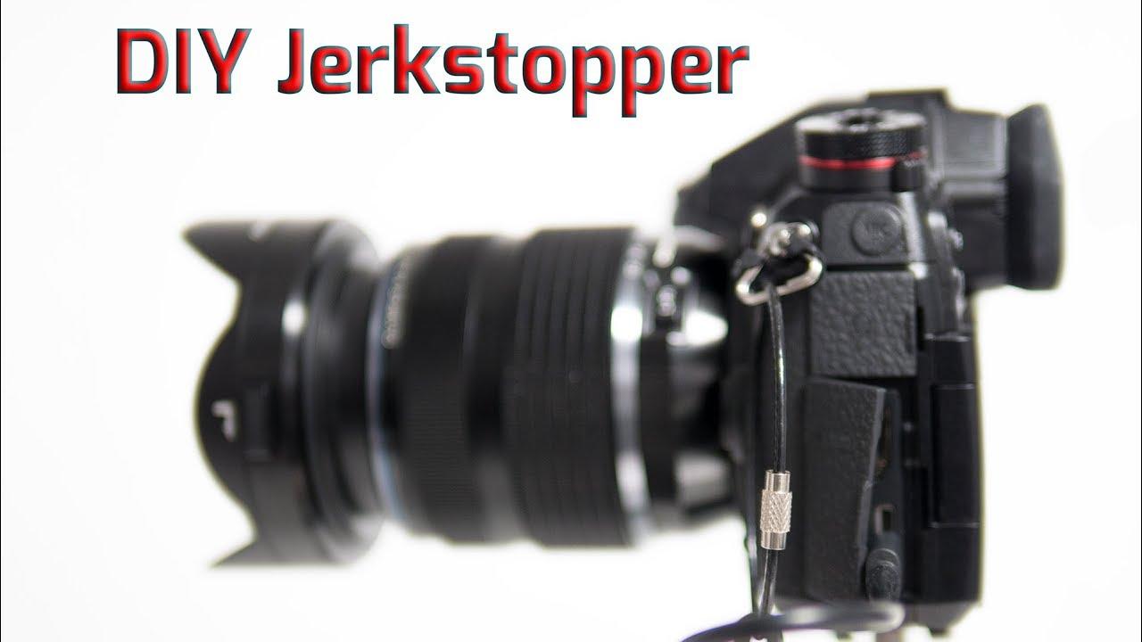 DIY Jerkstopper Kabelhalterung für die Kamera selber bauen - YouTube