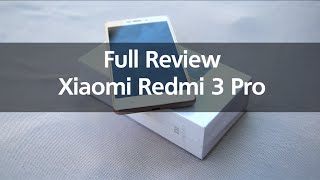 Xiaomi Redmi 3 Pro - Review Indonesia