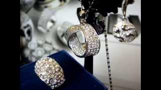 Свадебный комплект бижутерии
