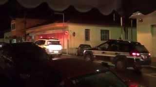 Suspeito de participar de assassinado em Ipuiuna é levado para a delegacia de Poços. de Caldas