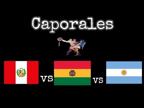 FOLKLORE BOLIVIANO - CAPORALES - PERU VS BOLIVIA VS ARGENTINA