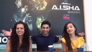 Live Chat with the Cast of A.I.SHA - Ruslaan Mumtaaz Rashi Mal Auritra Ghosh
