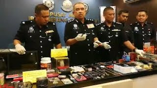 Penang house break-in gang busted 12 hours after looting two houses