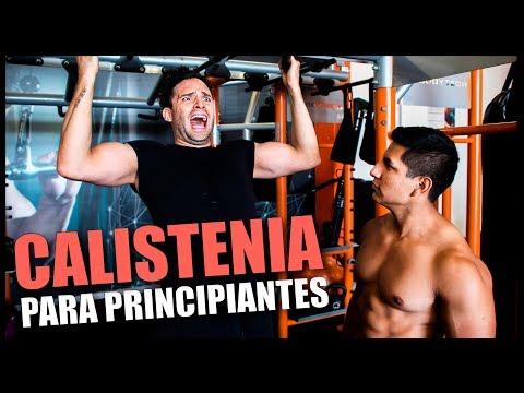 CALISTENIA PARA PRINCIPIANTES CON KASS CALISTENIA | RUTINA DE CALISTENIA PARA PRINCIPIANTES