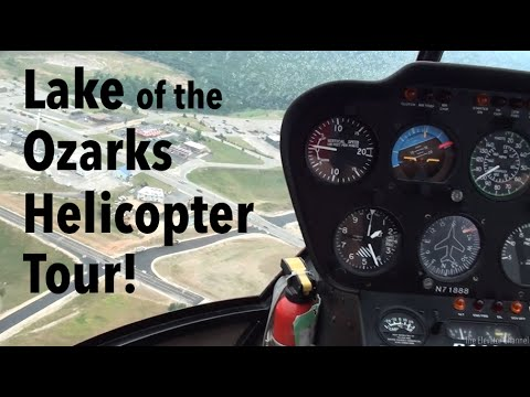Robinson R44 Helicopter Ride - Lake of the Ozarks