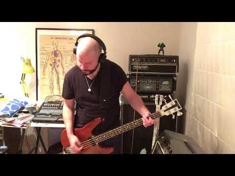 Shellac - A Minute - Travis Bean TB2000 / Traynor TS-50B Bass Cover Version