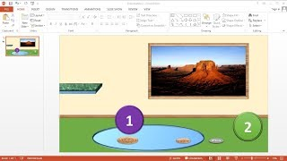 PowerPoint training How to Make a Countdown Animation Bouncing on PowerPoint