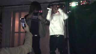 LVSkinny , Young 2 Liter & Quellz Performing Live In Clifton Forge