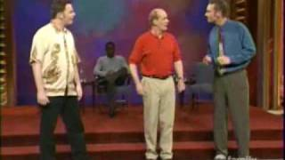 Whose line is it anyway - Two line vocabulary (Dangerous Mission)