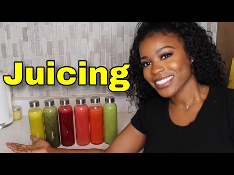 Juicing Recipes For Beginners - Clear Skin & Weightloss - EASY