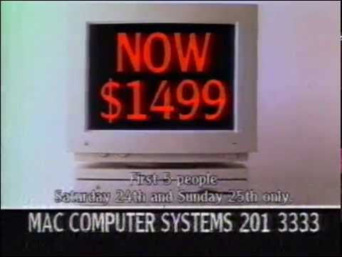 MAC Computer Systems TV AD 1994(archive)