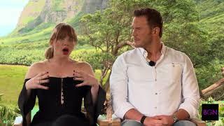 BGN Interview with Chris Pratt and Bryce Dallas Howard on Jurassic World: Fallen Kingdom